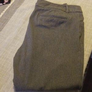 Merona stretch gray ankle dress pants!